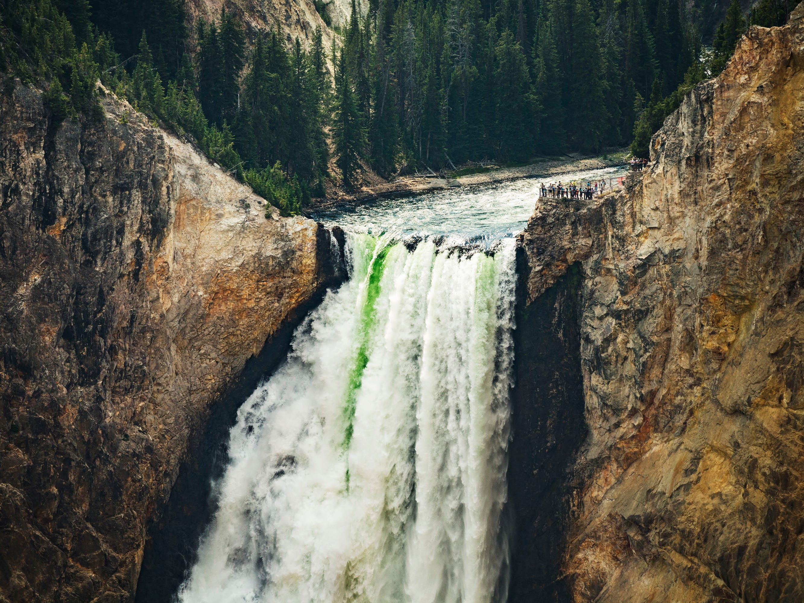 The Upper Yellowstone Falls.