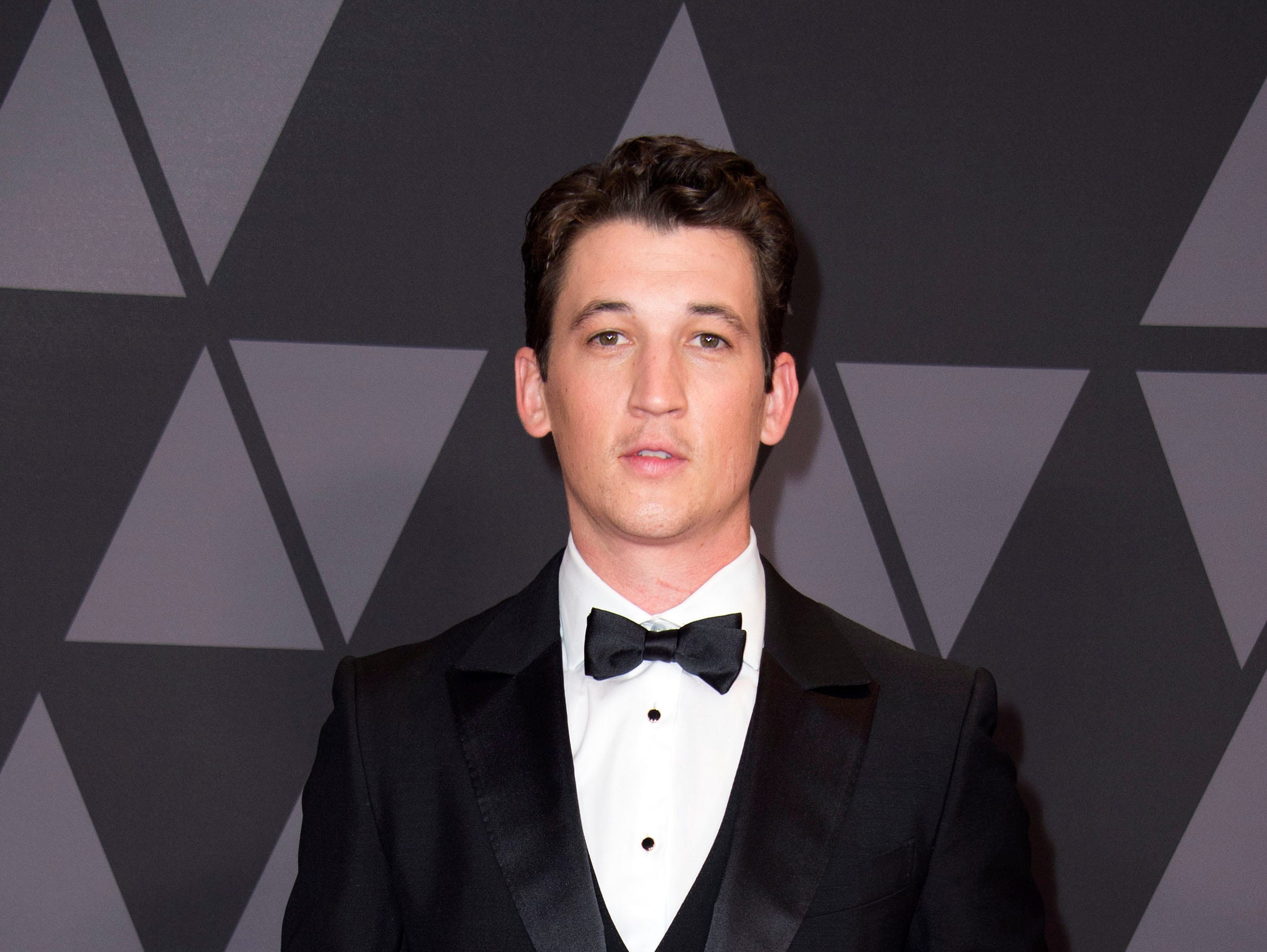 Actor Miles Teller attends the 2017 Governors Awards, on November 11, 2017, in Hollywood, California. / AFP PHOTO / VALERIE MACONVALERIE MACON/AFP/Getty Images ORG XMIT: 1 ORIG FILE ID: AFP_U73EL