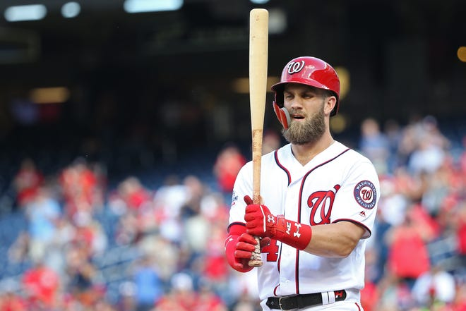 Bryce Harper is pursuing a contract in excess of $300 million this winter.