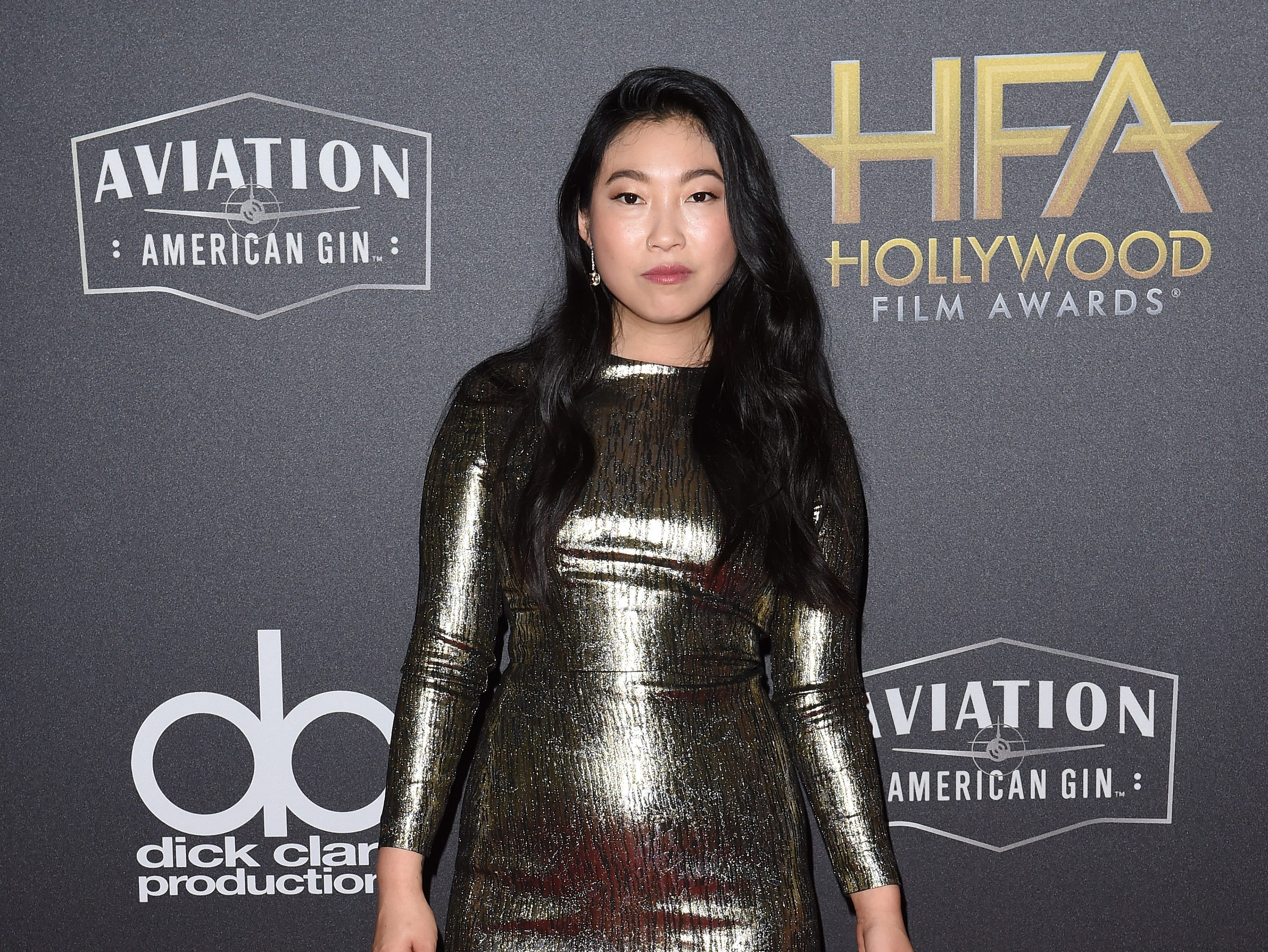 BEVERLY HILLS, CA - NOVEMBER 04:  Awkwafina attends the 22nd Annual Hollywood Film Awards at The Beverly Hilton Hotel on November 4, 2018 in Beverly Hills, California.  (Photo by Axelle/Bauer-Griffin/FilmMagic) ORG XMIT: 775237947 ORIG FILE ID: 1057575026