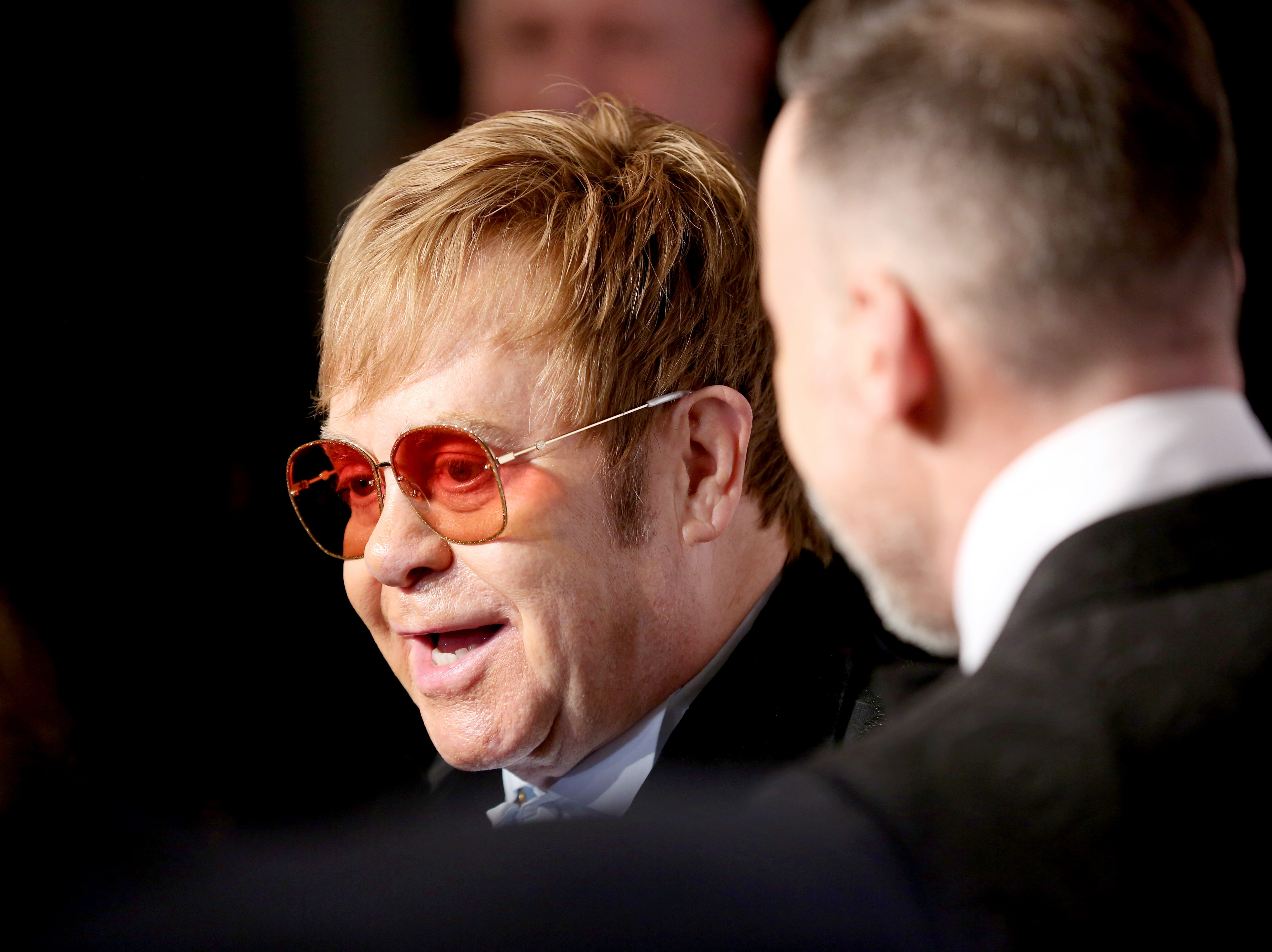 NEW YORK, NY - NOVEMBER 05:  Elton John attends the Elton John AIDS Foundation's 17th Annual An Enduring Vision Benefit at Cipriani 42nd Street on November 5, 2018 in New York City.  (Photo by Monica Schipper/WireImage) ORG XMIT: 775252041 ORIG FILE ID: 1057813212