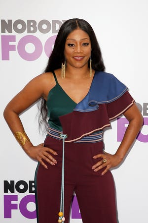 NEW YORK, NY - OCTOBER 28:  Tiffany Haddish attends 'Nobody's Fool' New York Premiere at AMC Lincoln Square Theater on October 28, 2018 in New York City.  (Photo by Dominik Bindl/Getty Images) ORG XMIT: 775247499 ORIG FILE ID: 1054819910