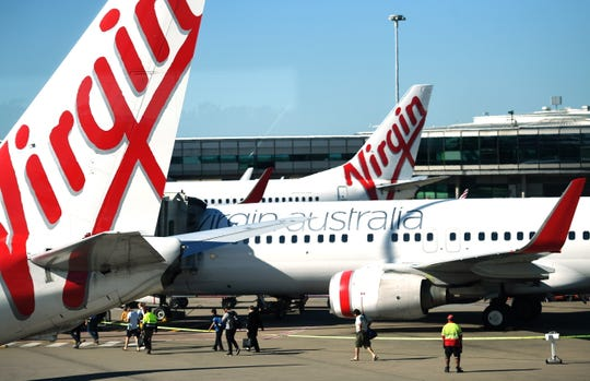 A 9-year-old boy flying as an unaccompanied minorto visit his grandparentshad to sleep over in an airport lounge in Melbourne, Australia, Thursday night after Virgin Australia diverted his plane.