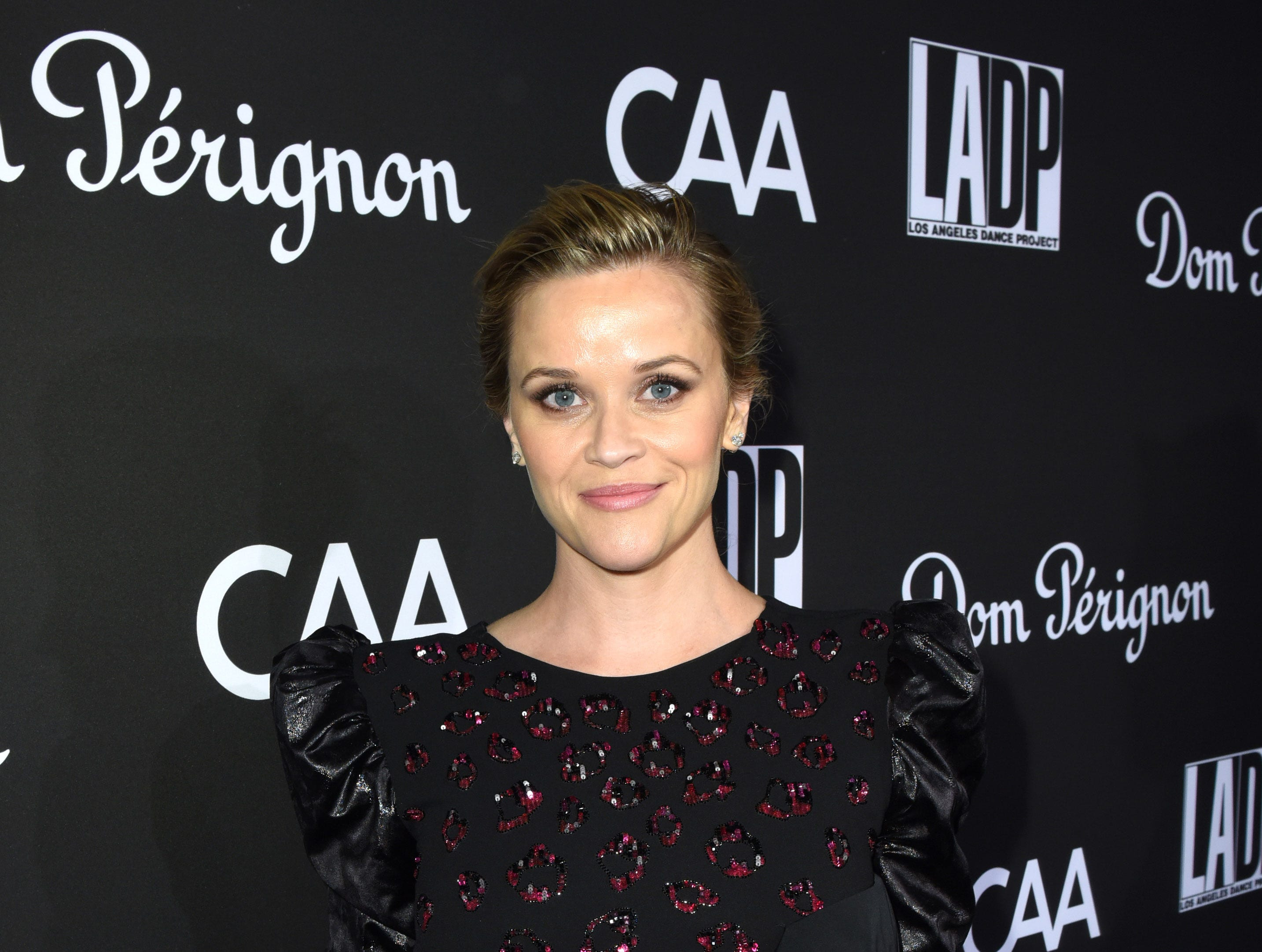 LOS ANGELES, CA - OCTOBER 20:  Reese Witherspoon attends the 2018 LA Dance Project Gala at Hauser & Wirth on October 20, 2018 in Los Angeles, California.  (Photo by Vivien Killilea/Getty Images for L.A. Dance Project) ORG XMIT: 775238462 ORIG FILE ID: 1052667632