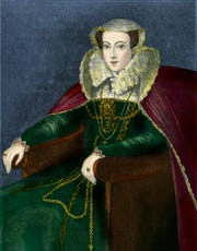 Mary, who reigned as Queen of Scots from 1542 to 1567.