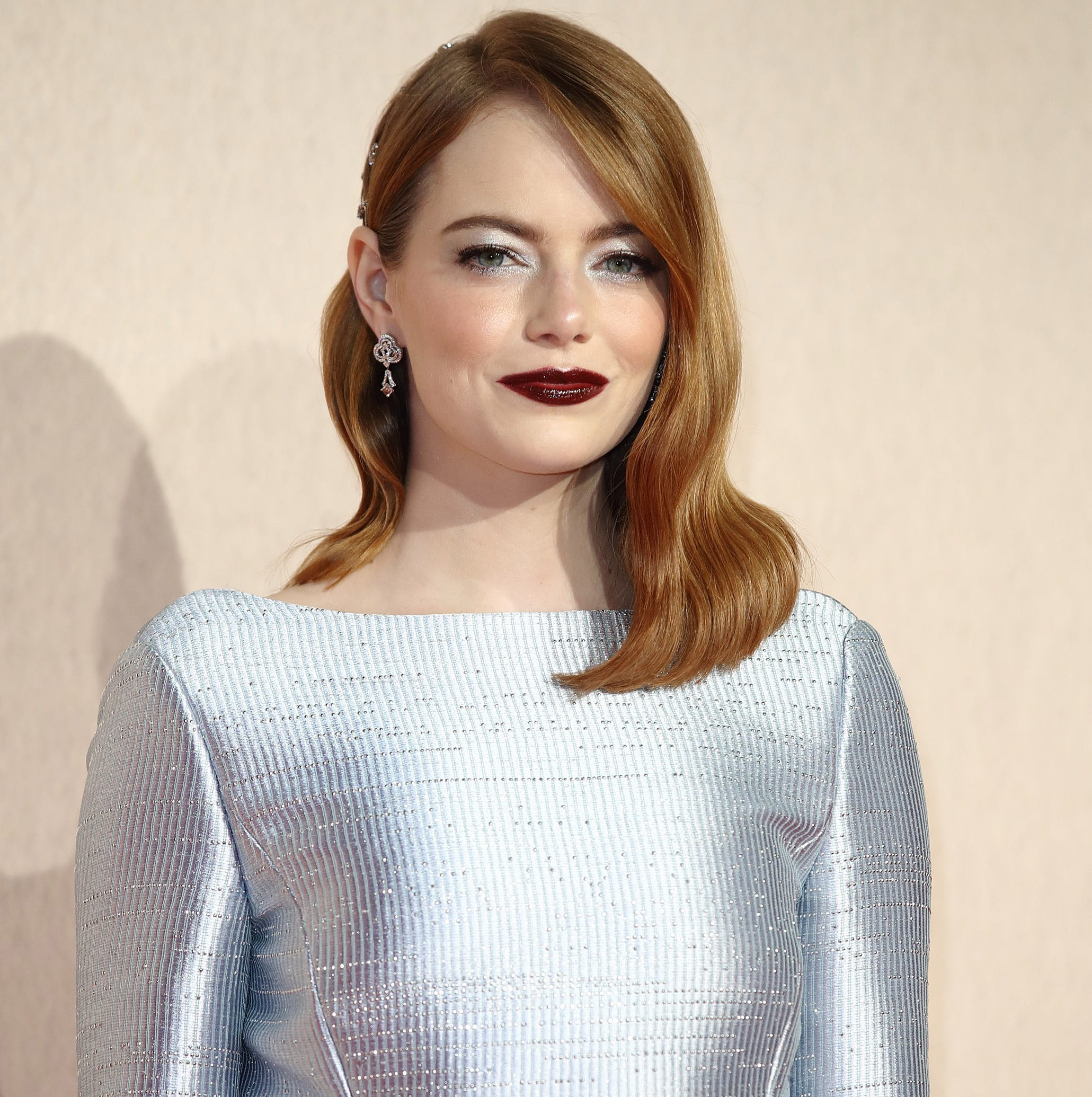 "LONDON, ENGLAND - OCTOBER 18:  Emma Stone attends the UK Premiere of ""The Favourite"" & American Express Gala at the 62nd BFI London Film Festival on October 18, 2018 in London, England.  (Photo by Mike Marsland/Mike Marsland/WireImage) ORG XMIT: 775239732 ORIG FILE ID: 1052469744"