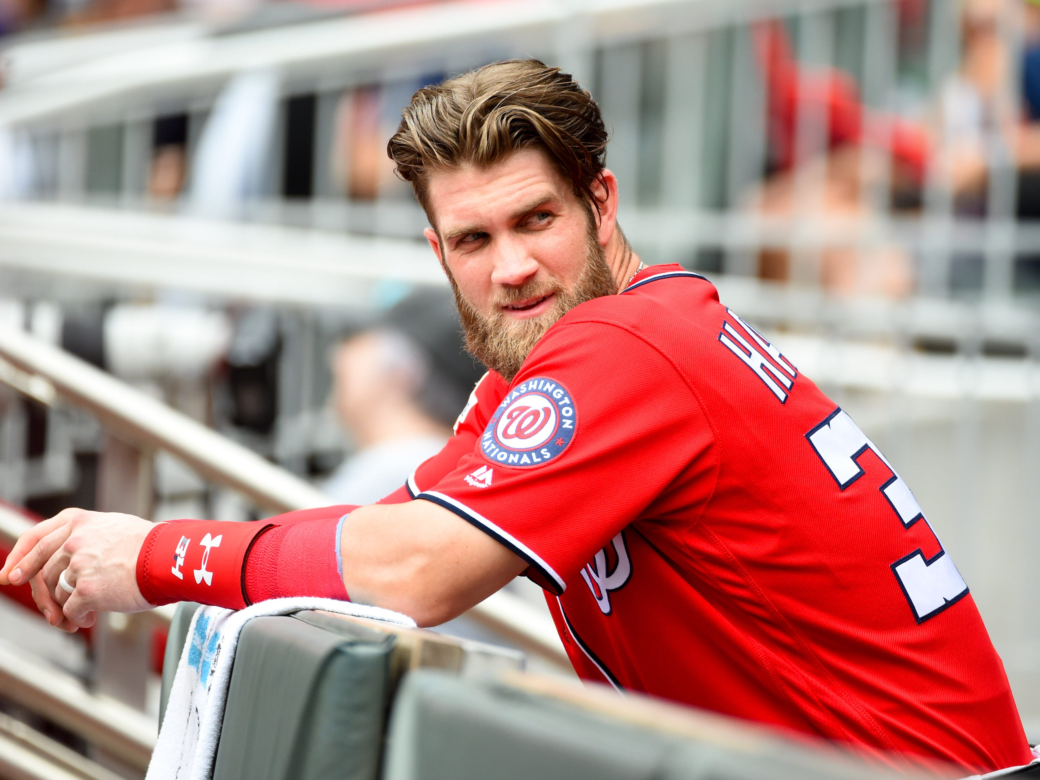 Bryce Harper (26, OF, Nationals)