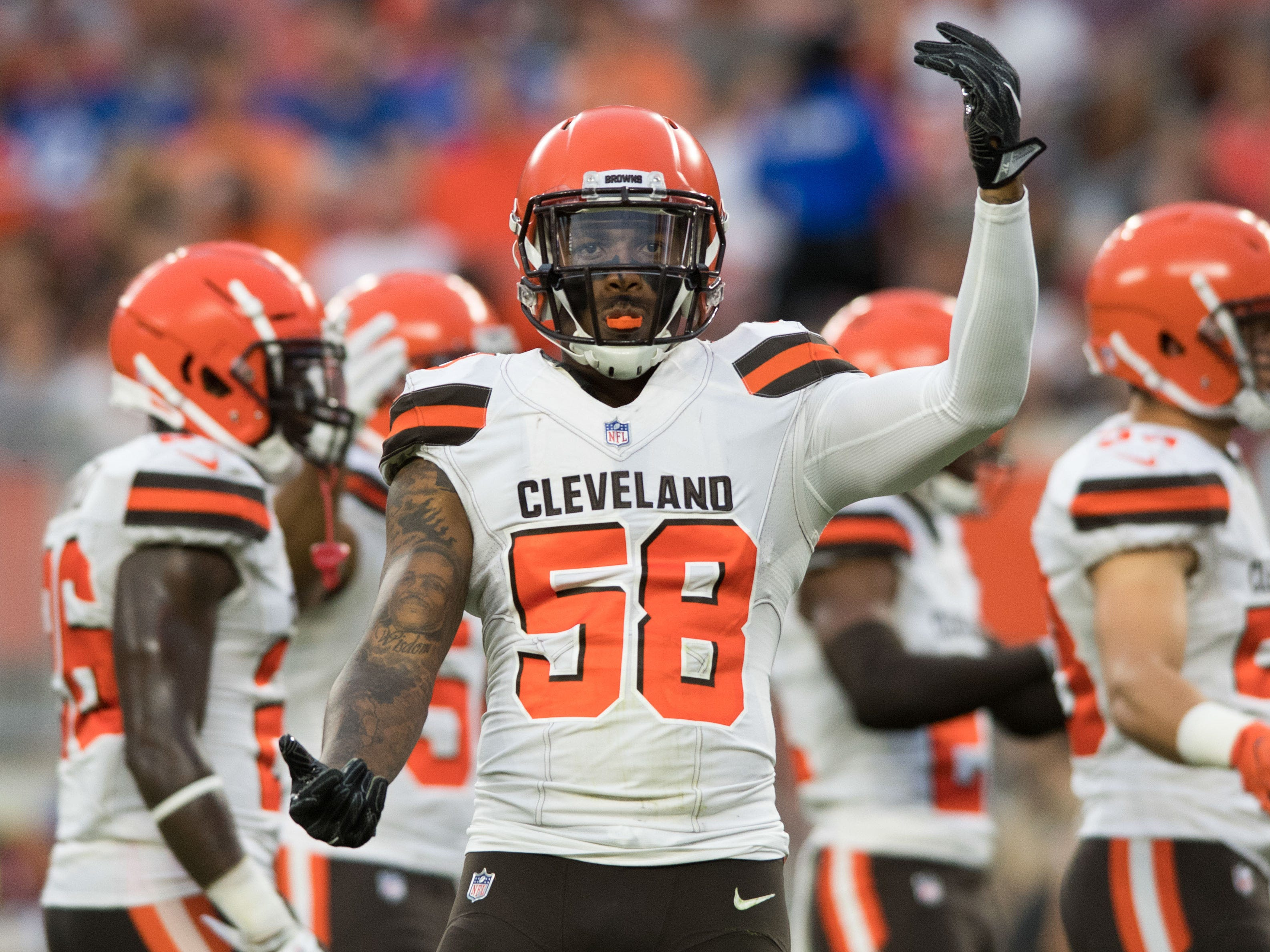 Christian Kirksey, LB, Cleveland Browns (hamstring, out for season)