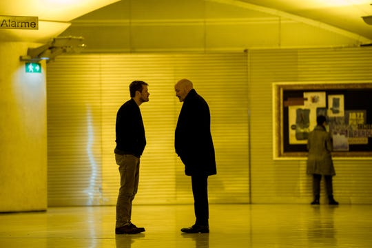 Professional intelligence entanglements complicate the relationship of operative John Tavner (Michael Dorman) and his father, Tom (Terry O'Quinn), in Amazon's 'Patriot.'