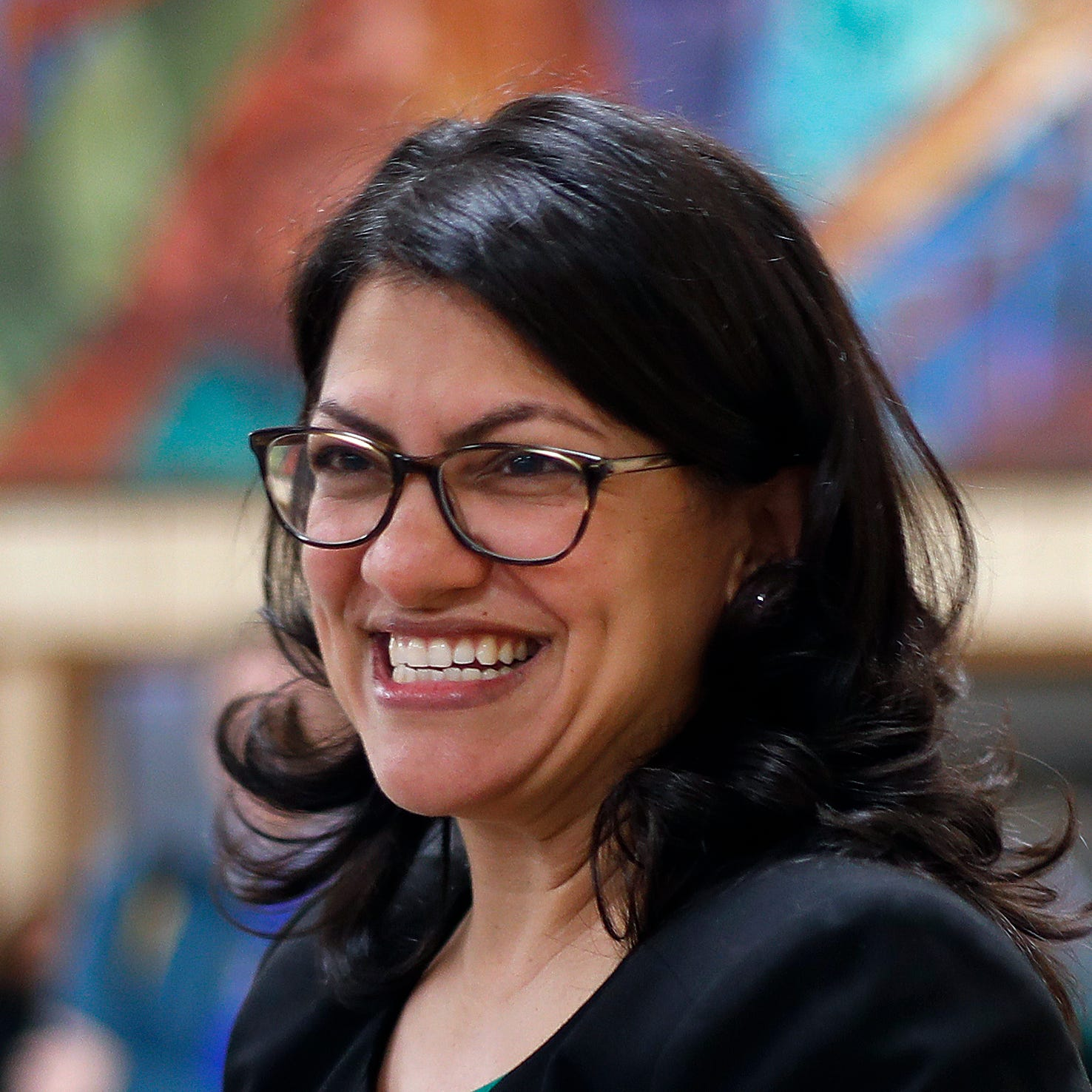 U.S. Congresswoman Rashida Tlaib in Dearborn in this 2018 file photo.