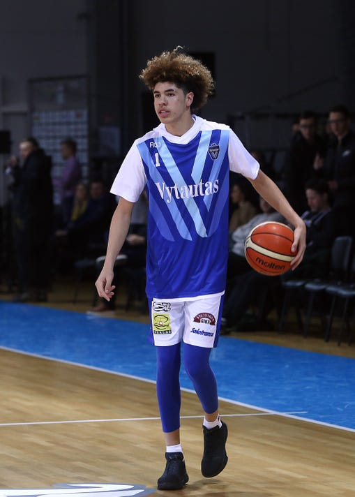 7854d13b0deb  No question  LaMelo Ball can be No. 1 draft pick