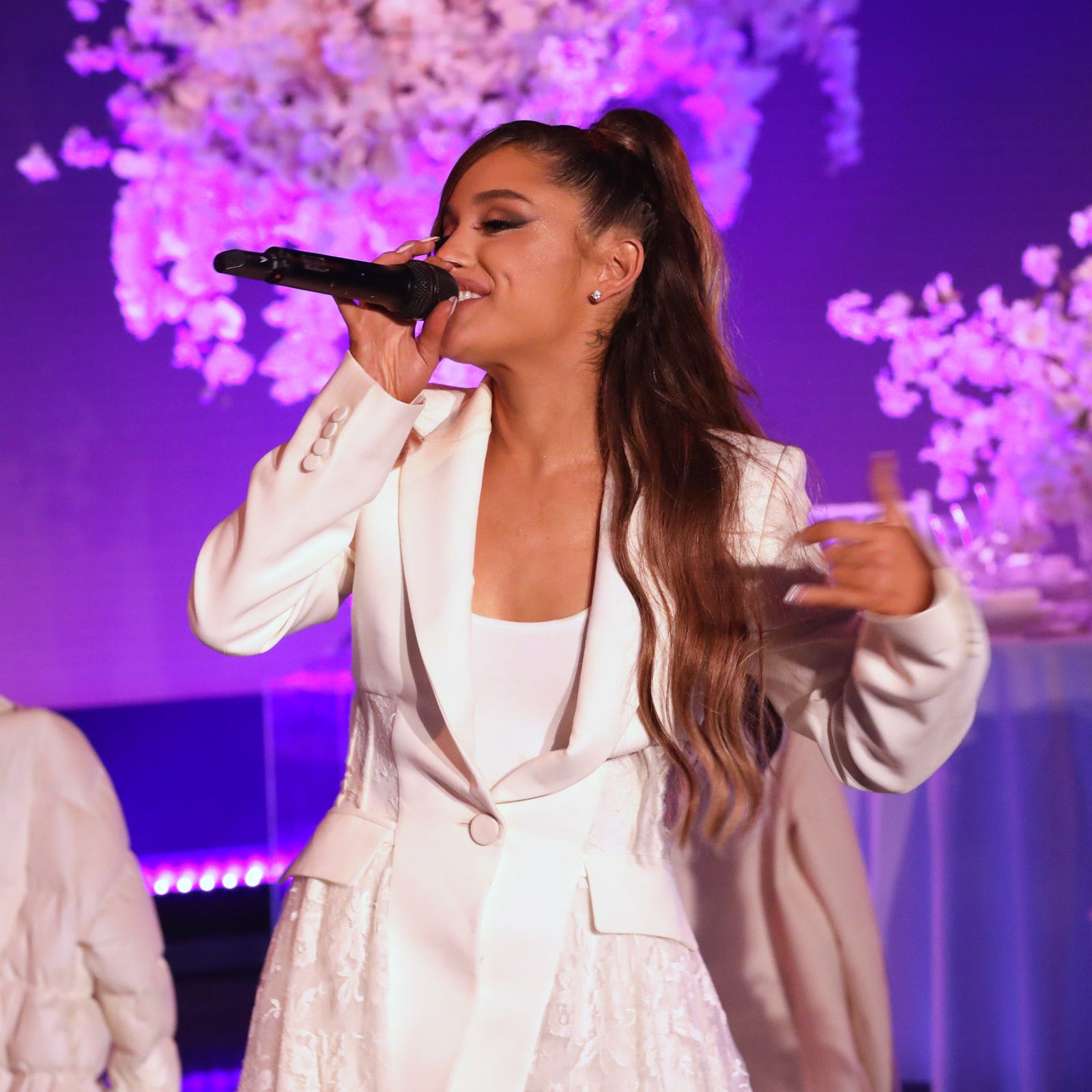 "Ariana Grande gives debut performance of ""thank u, next"" on ""The Ellen DeGeneres Show."""