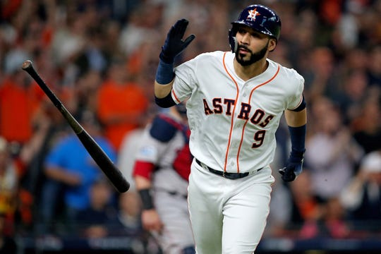 Marwin Gonzalez has at least 90 games at five different positions.