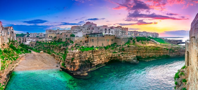 Puglia, Italy: It's not hard to understand why Italy is one of Europe's most popular (and crowded) destinations. However, while Rome's Spanish Steps and Cinque Terre's idyllic villages suffer from overtourism, the region of Puglia remains undiscovered by most tourists. But as the heel that makes up the Italian boot, Puglia has all the flavor of Italy a traveler could want — ancient cities, incredible food and Mediterranean views. However, it also has its own cultural landmarks that you won't find anywhere else in Italy, like the pasta-making grandmothers of Bari and the cliffside town of Polignano a Mare with its famous Grotta Palazesse Restaurant.
