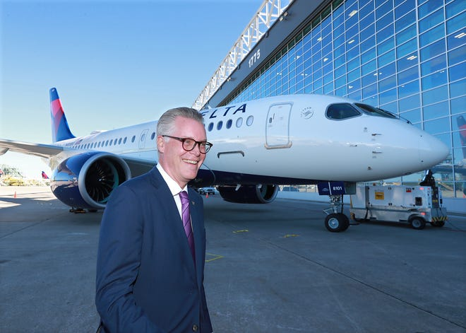 Delta CEO Ed Bastian calls mandatory COVID testing for flights within the US a