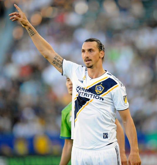 new style b4833 07f96 Zlatan Ibrahimovic: LA Galaxy star could return for 2019 MLS ...