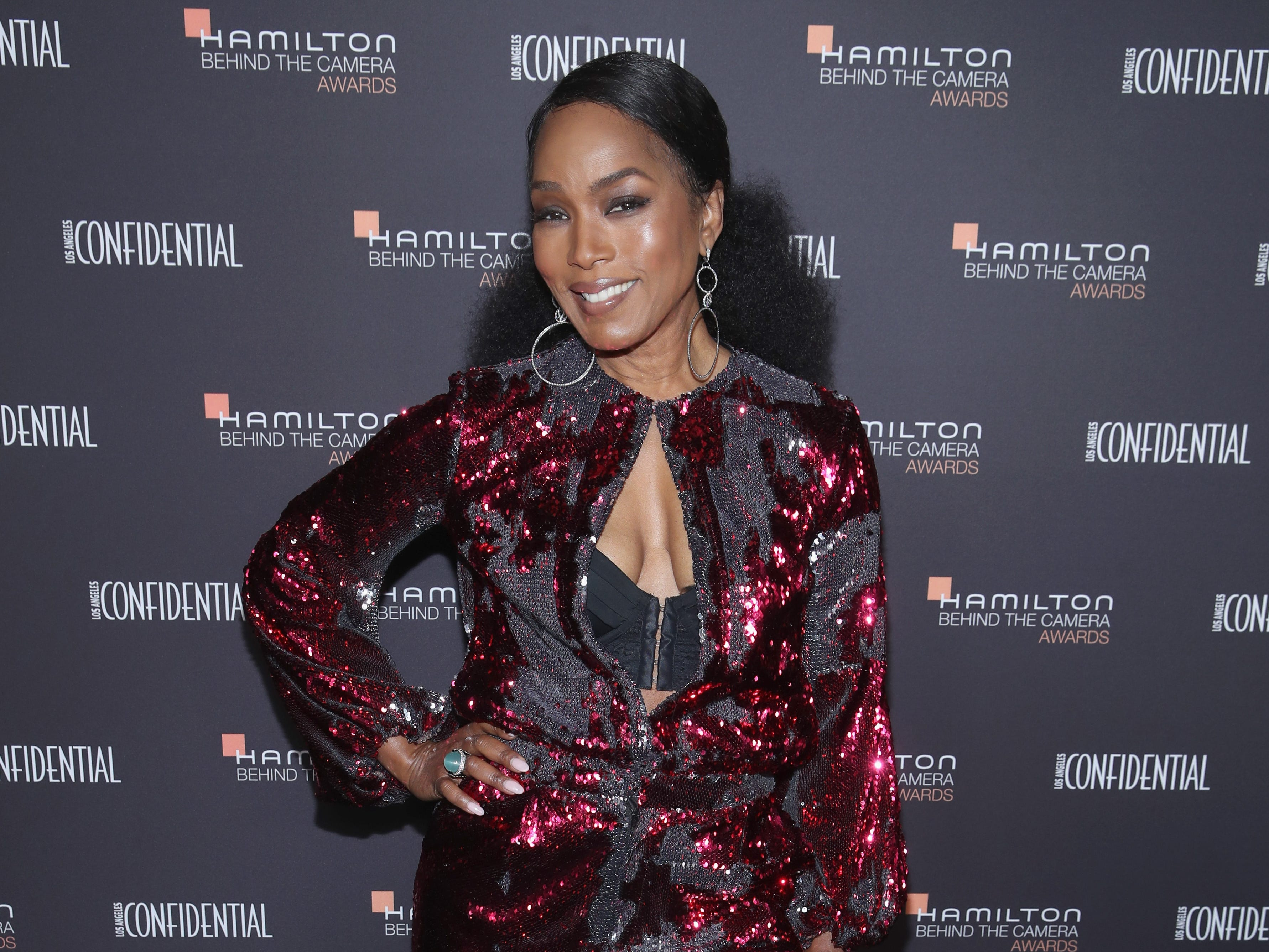 LOS ANGELES, CA - NOVEMBER 04:  Angela Bassett attends the Hamilton Behind the Camera Awards presented by Los Angeles Confidential Magazine on November 4, 2018 in Los Angeles, California.  (Photo by Randy Shropshire/Getty Images for LA Confidential) ORG XMIT: 775251013 ORIG FILE ID: 1057529850