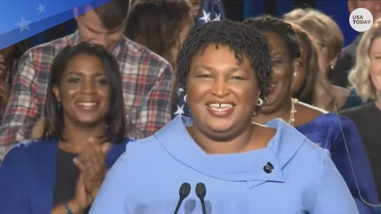 Stacey Abrams refuses to concede in tight Georgia governor race