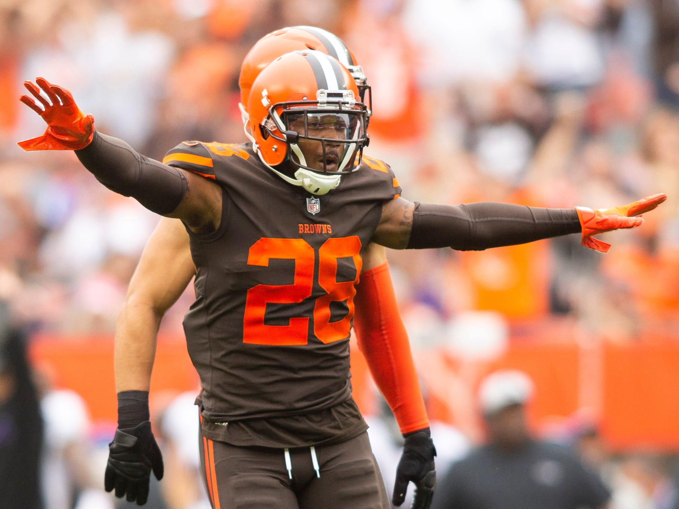 E.J. Gaines, DB, Cleveland Browns (concussions, out for season)