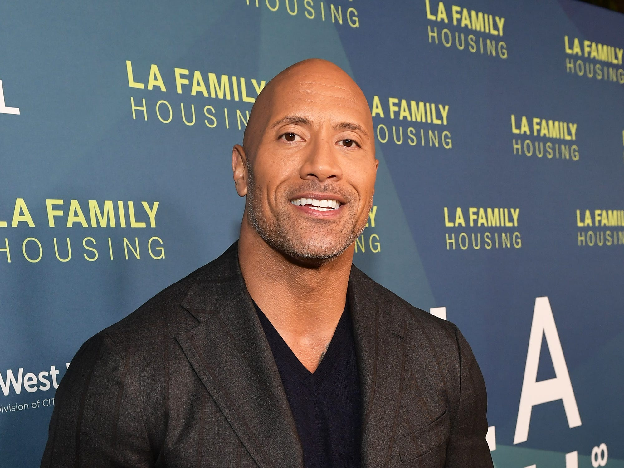 WEST HOLLYWOOD, CA - APRIL 05:  Dwayne Johnson attends the 2018 LA Family Housing Awards at The Lot in West Hollywood on April 5, 2018 in West Hollywood, California.  (Photo by Matt Winkelmeyer/Getty Images) ORG XMIT: 775149547 ORIG FILE ID: 942497064