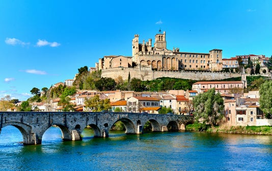Beziers Town France