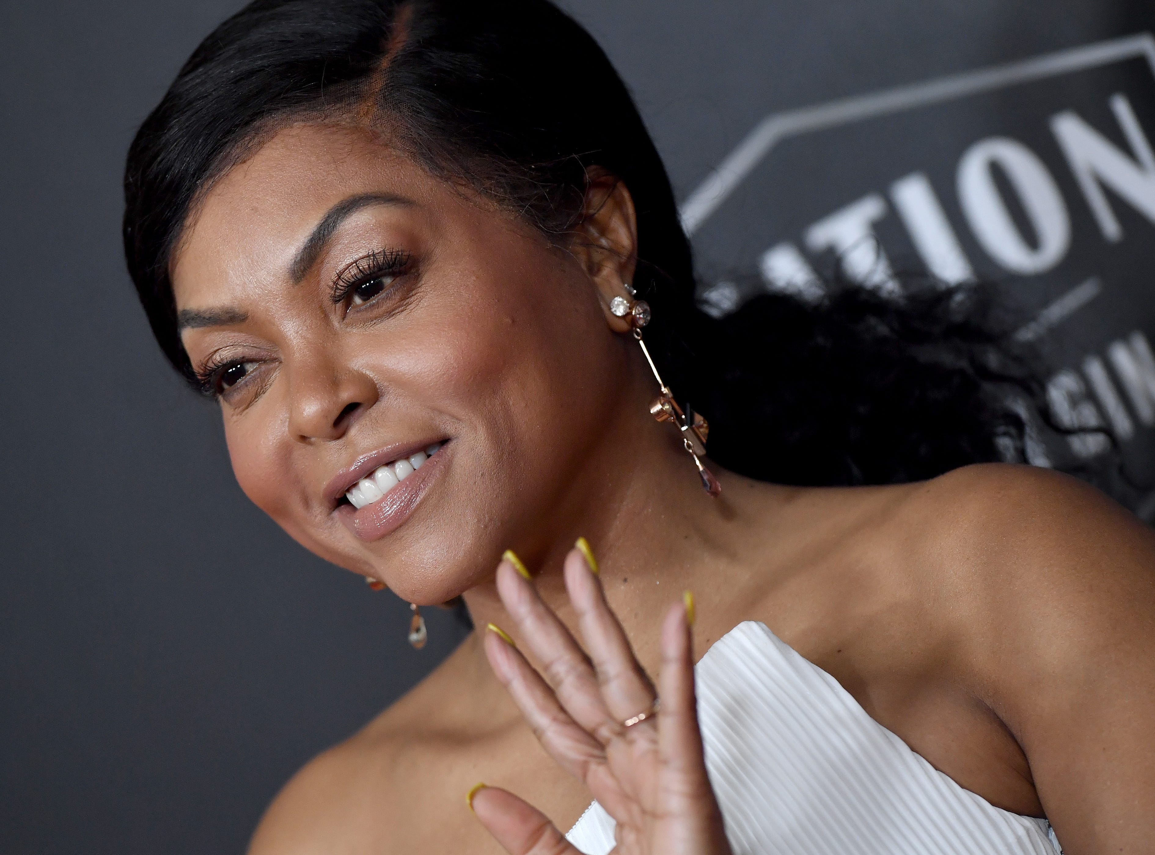 BEVERLY HILLS, CA - NOVEMBER 04:  Taraji P. Henson attends the 22nd Annual Hollywood Film Awards at The Beverly Hilton Hotel on November 4, 2018 in Beverly Hills, California.  (Photo by Axelle/Bauer-Griffin/FilmMagic) ORG XMIT: 775237947 ORIG FILE ID: 1057574684