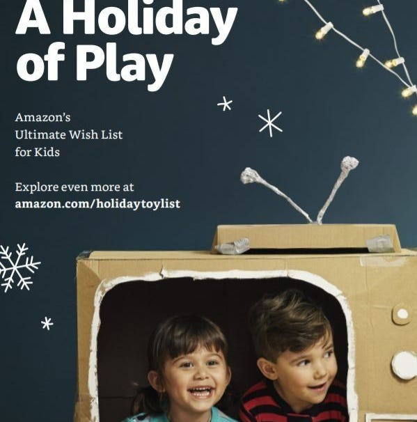 Amazon has released its first-ever toy catalog that has been mailed to home and it also available at  Amazon Bookstores and 4-star locations.
