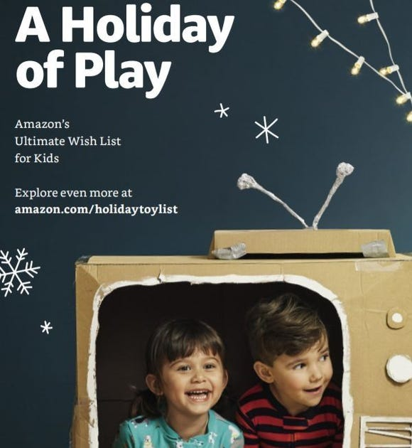 Amazon has released its first-ever toy catalog.