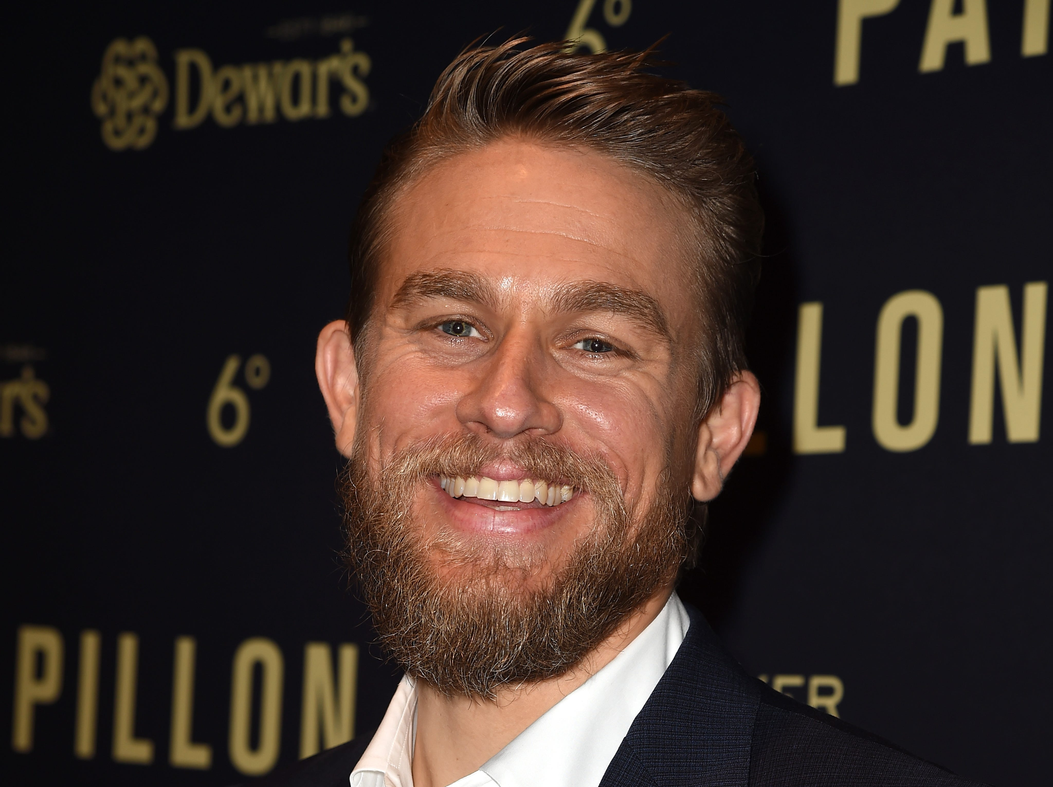 "WEST HOLLYWOOD, CA - AUGUST 19:  Charlie Hunnam attends the premiere of Bleecker Street Media's ""Papillon"" at The London West Hollywood on August 19, 2018 in West Hollywood, California.  (Photo by Kevin Winter/Getty Images) ORG XMIT: 775208375 ORIG FILE ID: 1019664970"