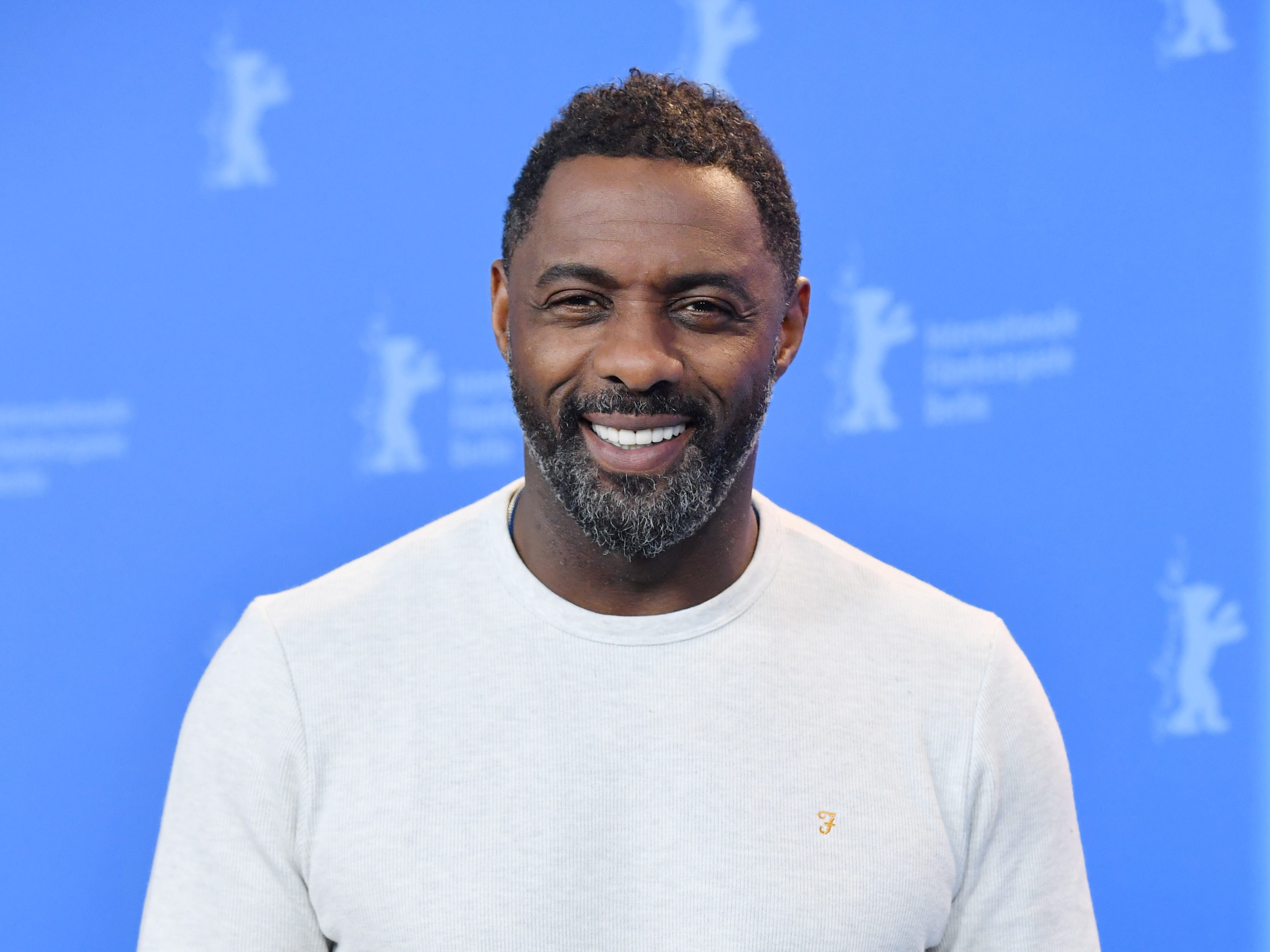 epa07145417 (FILE) - British director Idris Elba poses during a photocall for 'Yardie' at the 68th annual Berlin International Film Festival (Berlinale), in Berlin, Germany, 22 February 2018 (reissued 06 November 2018). According to media reports, Idris Elba has been named Sexiest Man Alive 2018 by People's magazine.  EPA-EFE/SASCHA STEINBACH *** Local Caption *** 54146576 ORG XMIT: BER723