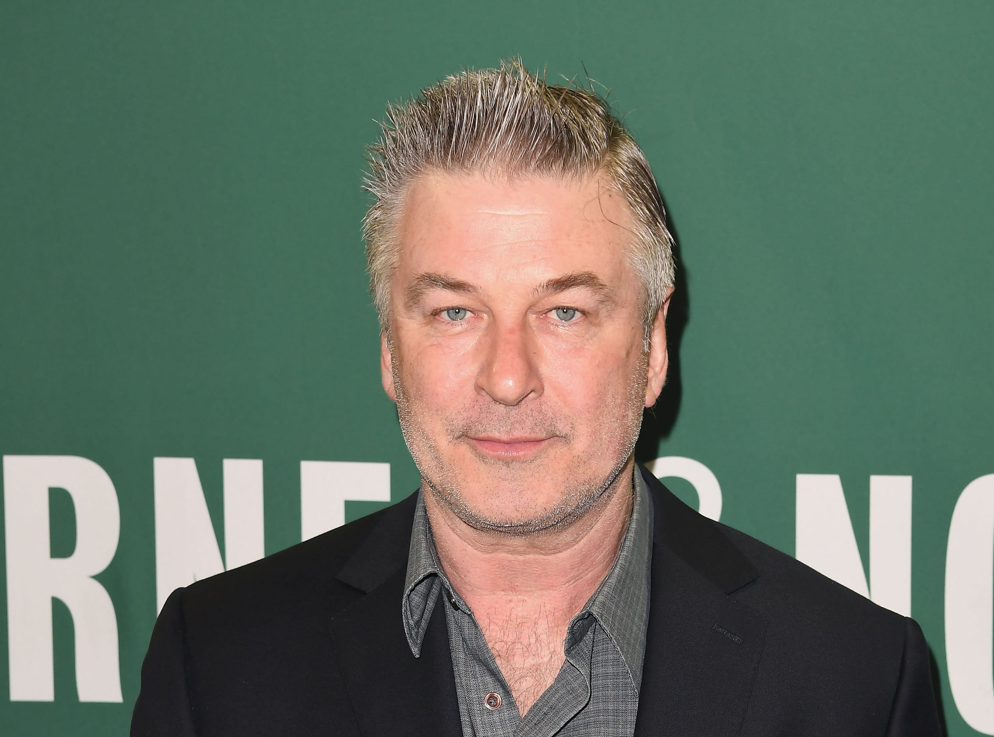 (FILES) In this file photo taken on April 4, 2017 Actor Alec Baldwin arrives at Barnes & Noble Union Square in New York, to sign his new book 'Nevertheless: A Memoir.' - Hollywood actor and television presenter Alec Baldwin was arrested in New York on November 2, 2018 for allegedly punching a 49-year-old man in the face during a parking dispute, police said. (Photo by ANGELA WEISS / AFP)ANGELA WEISS/AFP/Getty Images ORG XMIT: 1 ORIG FILE ID: AFP_1AJ0RH