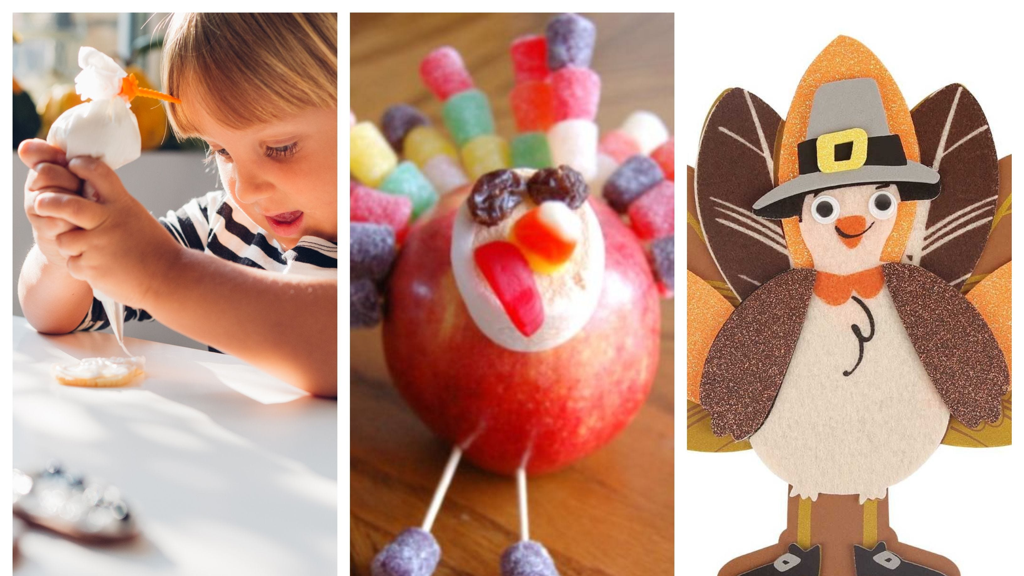5 easy ways to keep little ones busy at the Thanksgiving kids table