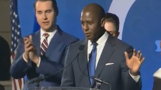Andrew Gillum concedes to Ron DeSantis in Florida's gubernatorial race.