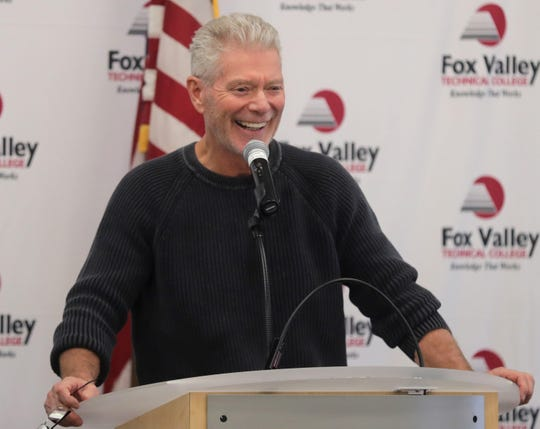 "Actor Stephen Lang, best known for ""Avatar,"" ""Tombstone,"" ""Gods and Generals"" and ""Don't Breathe,"" spoke to veterans Thursday at a luncheon at Fox Valley Technical College."