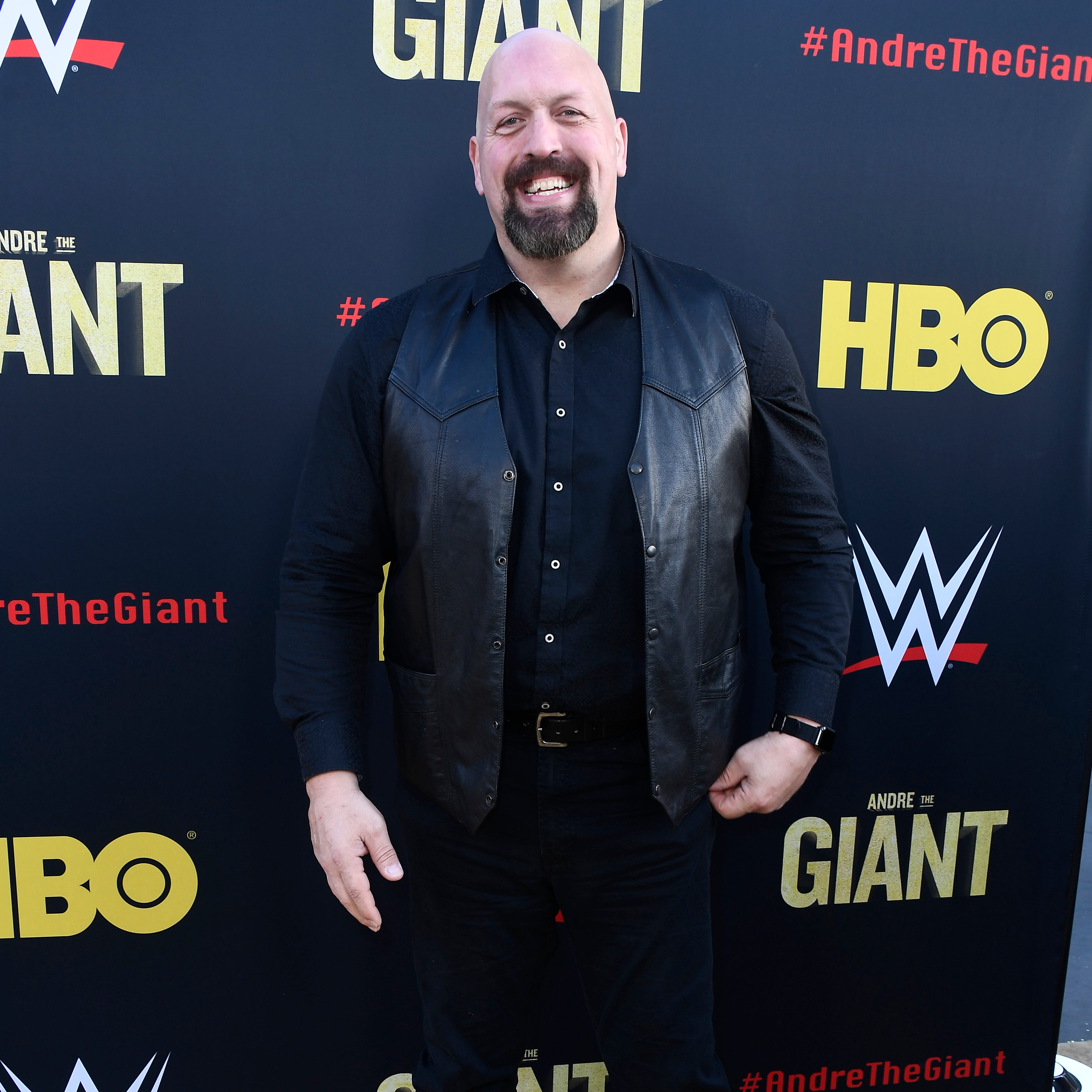 """Paul Donald Wight II, aka Big Show, attends the Premiere Of HBO's """"Andre The Giant"""" at The Cinerama Dome on March 29 in Los Angeles."""