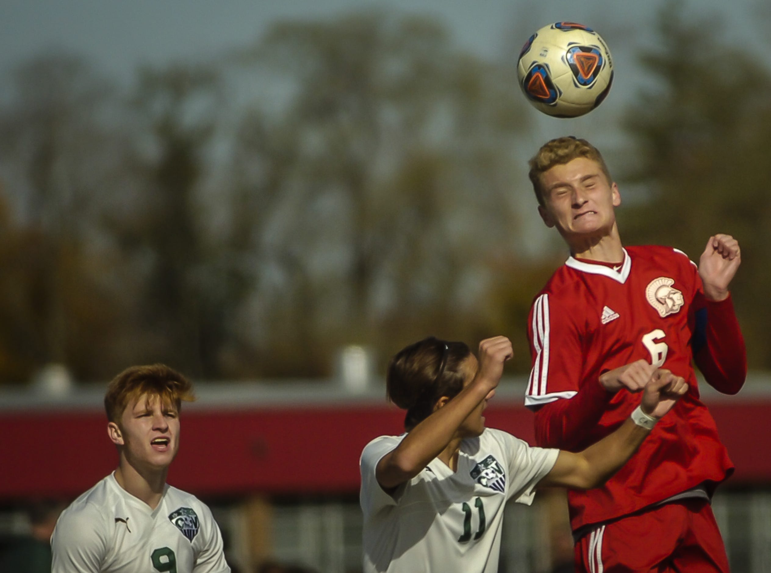 NJSIAA Central Group III boys soccer final, Ocean Township and Colts Neck at Ocean Township High School on Nov.8, 2018.
