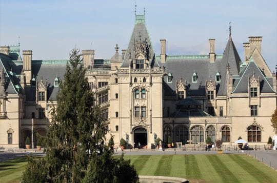 Not just any mansion, Biltmore House is the largest privately owned home in America. Visitors can see many of the 250 rooms in the home built by then-bachelor George Vanderbilt II, south of Asheville, N.C.