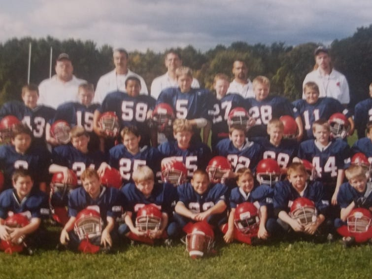 Castle Creek resident Jamie Allen, the father of 18-year-old senior Half Back Jeremiah Allen, coaches the Chenango Forks Youth Football Program and runs the Southern Tier Youth Football Conference.