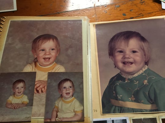Scott Jackowski and his sister Lori Hoban as babies.