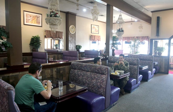 The Curry is an Indian restaurant on Washington Ave. in downtown Bremerton near the ferry terminal.