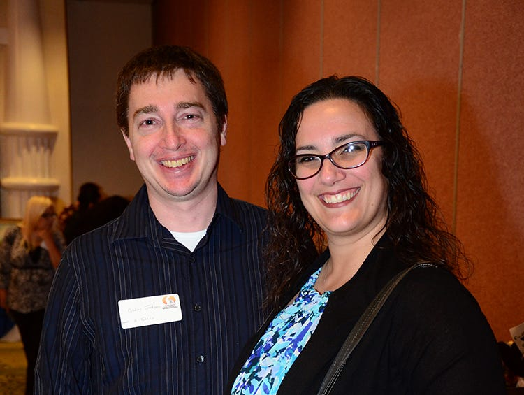 Conrad and Christina Jackson were on hand Saturday evening for the Space Coast Feline Network Autumn Gala.