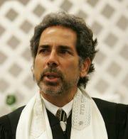Rabbi Barry Silver, spiritual leader of Congregation L'Dor Va-Dor in Boynton Beach and supporter of Andrew Gillium