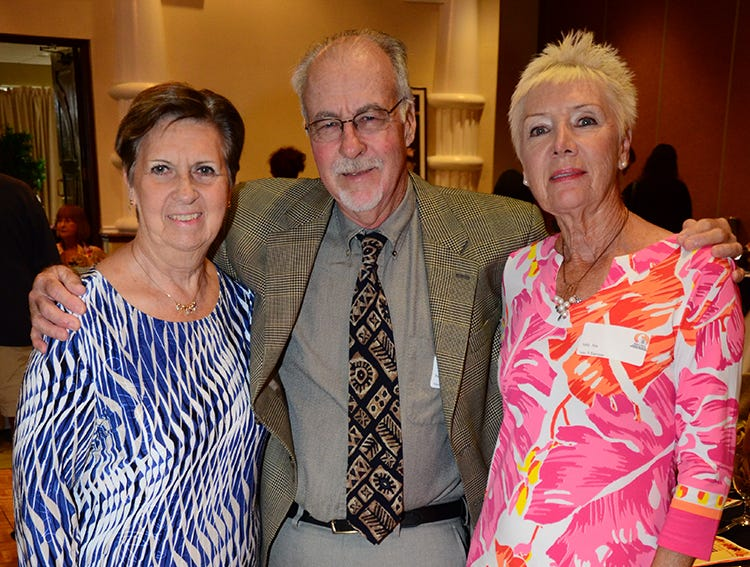 Mary-Elizabeth Moniz, Patrick and Sally Fox were ready to support the Space Coast Feline Network Autumn Gala benefit held Saturday night at the Space Coast Convention Center in Cocoa.
