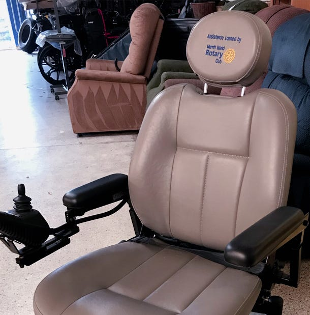 'Mobility Chair Program' offers use of electric wheelchair