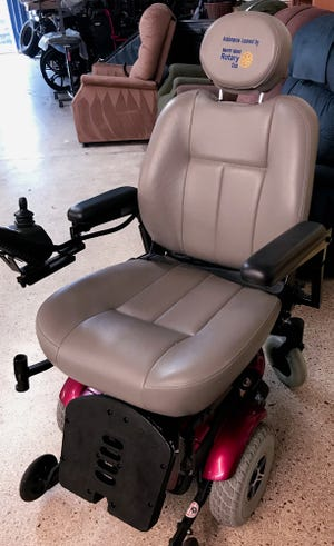 "The Merritt Island Rotary Club has introduced a new program to loan an electric wheelchair to a person in need until a permanent solution can be found. It is called the ""Mobility Chair Program."""