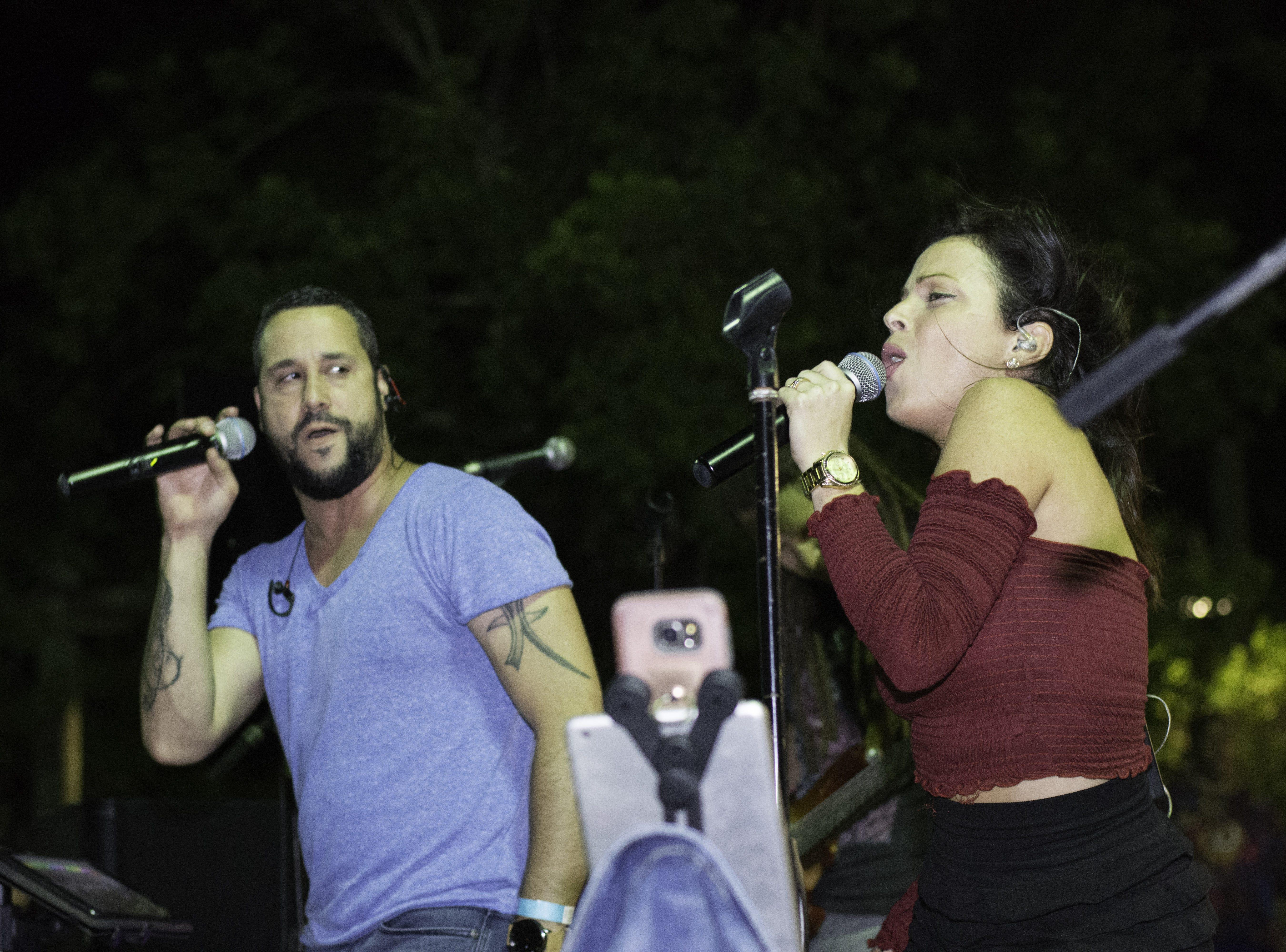 Wonderama performing at the Top 40 music venue at Jazzoo. Arron Lampkin/For FLORIDA TODAY
