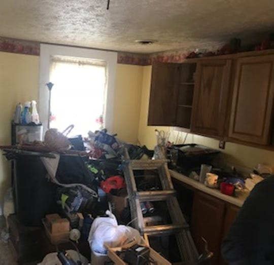 The house at 1111 Willard St. was filled with suspected stolen property.