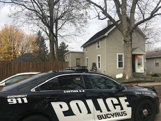 Authorities raided the house at 1111 Willard St. on Thursday morning after reports of drug activity.