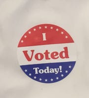 A list of write-in votes in Tuesday's election in Camden County covers 142 pages.