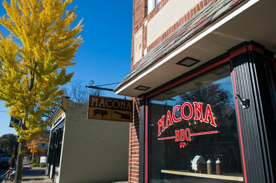 Macona BBQ in Collingswood, N.J.